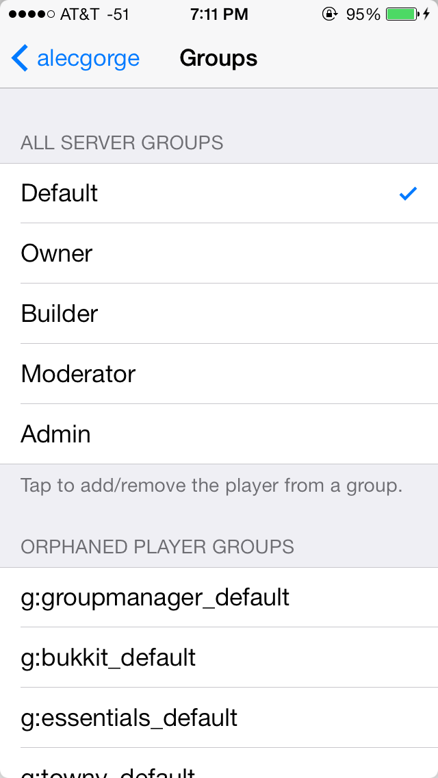 Adminium 3 0 — An app for iOS that allows you to manage your